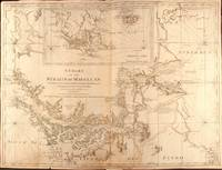 A Chart of the Straits of Magellan. Inlarged from the chart published at Madrid in 1769. by Don Juan de la Cruz Cano y Olmedilla ... and improved from the observations and surveys of Captns. Byron, Wallis, and Cartaret compared with those of Monsr. de Bougainville