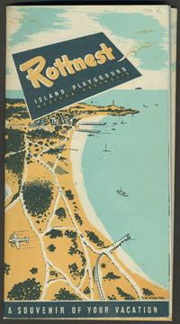 image of Rottnest Island Playground Western Australia.  Tourist map
