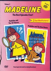 Madeline - The Best Episodes Ever - Madeline and the 40 Thieves/Madeline and the New House (Vol. 2)