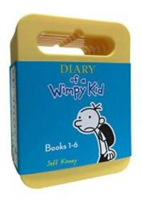 image of Diary of a Wimpy Kid: Audiobook Boxed Set: Diary of a Wimpy Kid, Rodrick Rules, The Last Straw, Dog Days, The Ugly Truth, Cabin Fever