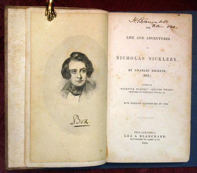 Philadelphia: Lea & Blanchard. Successors to Carey & Co, 1839. 1st US book edition (VanderPoel B125(...