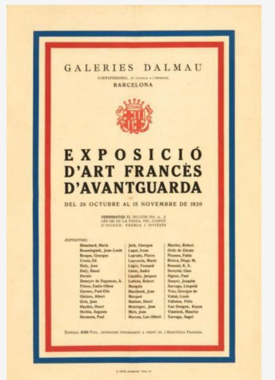 Poster of the exhibition of Art...