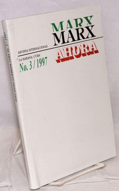 Havana: Ed. de Ciencias Sociales, 1997. 202p., paperback, corner crease on front wrap. Single issue ...