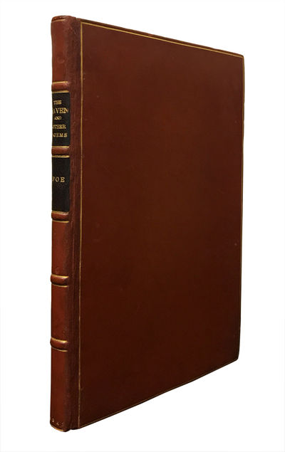 New York: Wiley and Putnam, 1845. First edition in book form of Edgar Allan Poe's