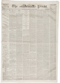 "The Gettysburg Address – November 20, 1863 Rare First Day Printing by ""Lincoln's Dog"" John Forney in the Philadelphia Press"