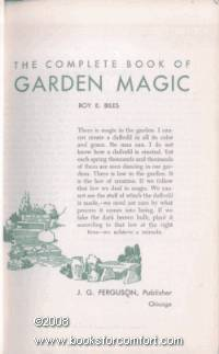 image of The Complete Book of Garden Magic