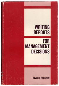 Writing Reports for Management Decisions