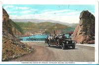 image of Sightseeing Coach at Avalon, Catalina Island, California POSTCARD