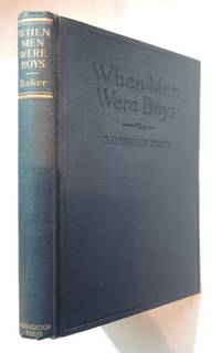 When men were boys : a collection of poetry about boys,