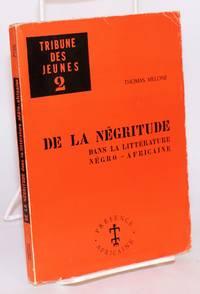 image of De la Négritude dans la littérature Négro-Africaine