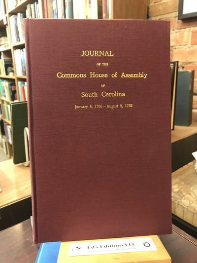 South Carolina: The State Commercial Printing Company, 1949. Hardcover. Good. Burgundy cloth colored...