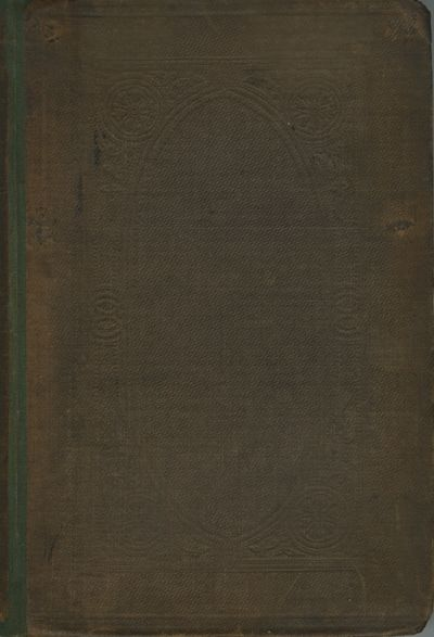 London: John Churchill & Sons, 1858. First edition. 8vo., x, 256 pp., engravings in text and 4 pp. a...