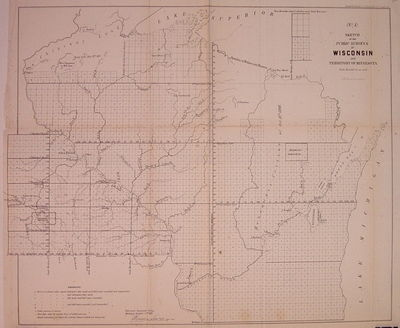 New York: Ackerman Lith, 1856. unbound. very good(+). Map. Uncolored lithograph. Image measures 17.2...