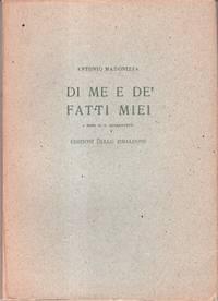 Antonio Madonizza: Di Me e de'Fatti Miei