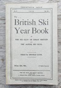 British Ski Year Book 1939 Volume X No. 20