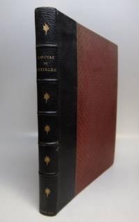 L'Oeuvre Grave et Lithographie de Steinlen by  E DE CRAUZAT - Limited - 1913 - from Argosy Book Store (SKU: 158887)