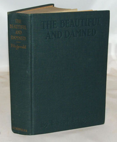 New York: Charles Scribner's Sons, 1922. First Edition. First Printing Very good+ in dark green clot...