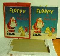 Floppy in Santa Land with Box