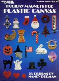 Holiday Magnets for Plastic Canvas Leaflet 246