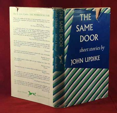 1959. UPDIKE, John. THE SAME DOOR. Short Stories. New York: Alfred A. Knopf, 1959. First edition. Bo...