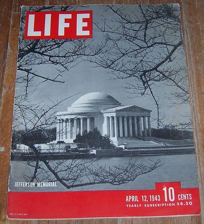 LIFE MAGAZINE APRIL 12, 1943, Life Magazine