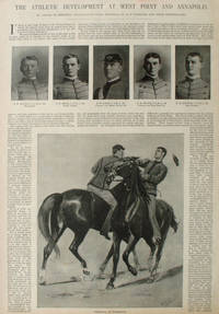 The Athletic Development at West Point and Annapolis, a four full page article from Harper's Weekly by  Annapolis]  R.F. (ills) [West Point - 1892 - from Antipodean Books, Maps & Prints and Biblio.com