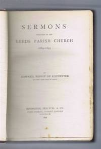 image of Sermons Preached in the Leeds Parish Church 1889 - 1895