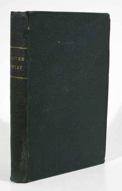 London: Chapman & Hall, 1850. 1st 'Cheap' edition in book form (NCBEL III, 792). Period, plain green...