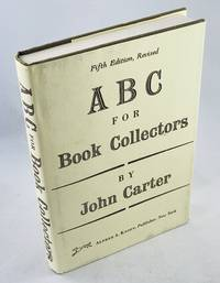 ABC for Book Collectors by Carter, John - 1991