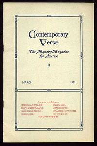 image of Contemporary Verse: March 1921