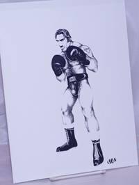 image of [Boxer] [8.5x11 inch matte b&w print]