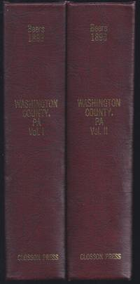 Commemorative Biographical Record Of Washington County, Pennsylvania -Biographical Sketches Of Prominent And Representative Citizens And Many Of The Early Settled Families (Two Volume Set)