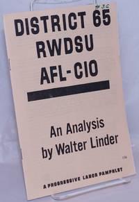 image of District 65 RWDSU, AFL-CIO, an analysis