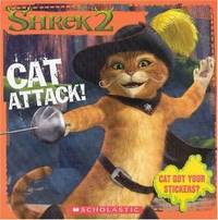 Shrek 2 Cat Attack 8x8 Storybook W Stickers By David Weiss Paperback 2004 03 09 From