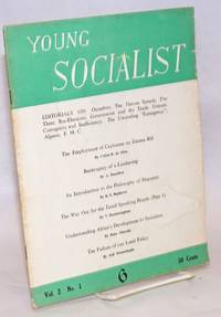 Young socialist; Vol. 2 No. 1, Whole No. 6