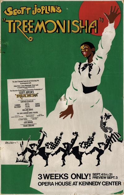 No binding. Very Good. FIne Art Print Scott Joplin (book, music) Washington, D.C., 1975. Vintage ori...