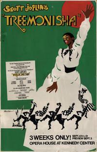 TREEMONISHA (1975) Theatre window card poster for Scott Joplin adaptation