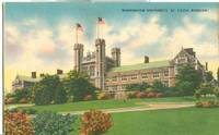Washington University, St. Louis, Missouri, unused linen Postcard