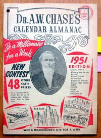 image of Dr. A.W. Chase's Calendar Almanac 1951