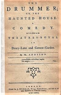 image of THE DRUMMER; OR, THE HAUNTED HOUSE.  A COMEDY.  As it is Acted at the Theatres-Royal in Drury-Lane and Covent-Garden