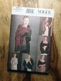 image of Vogue Sewing Pattern: 9875: VOGUE ACCESSORIES: Six Evening Shawls: One Size