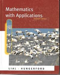 image of Mathematics With Applications In the Management, Natural, and Social  Sciences