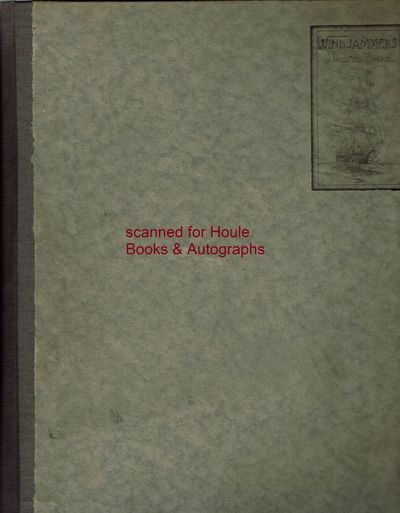 First edition. Large 4to. 25 leaves with etchings by J. Duncan Gleason in brown and or blue; text et...