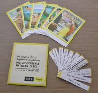 image of Ladybird Key Words Reading Scheme - Picture Sentence Matching Cards - to Accompany Early Books in the Series - 6 Pictures and 12 Sentence Cards -  Set Two Yellow