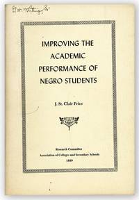 Improving the Academic Performance of Negro Students