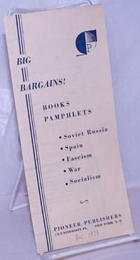 image of Big bargains! Books, Pamphlets