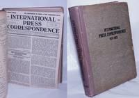 image of International Press Correspondence 1921-1922  [Oct-1921 through June 1922]