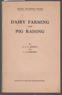 image of Dairy Farming and Pig Raising