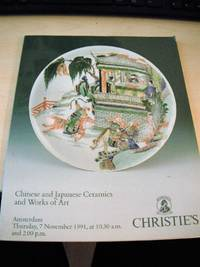 Chinese and Japanese Ceramics and Works of Art, November 1991