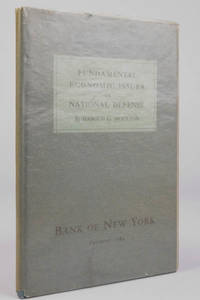 Fundamental economic issues in national defense : special edition for Bank of New York